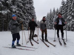 Ralf Kirchner geführte Skiwanderung