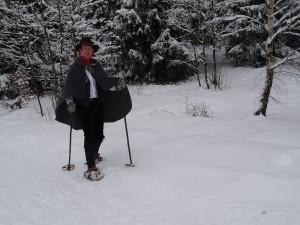 Ralf Kirncher Nostalgische Schneeschuhtour